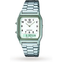mens casio classic collection alarm watch aq230a7bmqyes