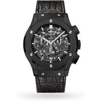 hublot classic fusion skeleton chronograph mens watch