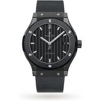hublot classic fusion automatic black magic mens watch