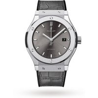 hublot classic fusion racing grey mens watch