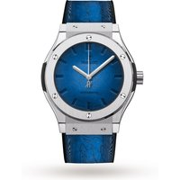 hublot classic fusion berluti blue mens watch