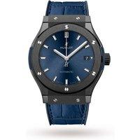 hublot classic fusion ceramic blue mens watch