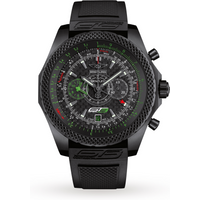 breitling for bentley gt3 midnight carbon mens watch