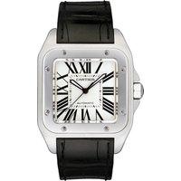 cartier santos 100 watch, large model