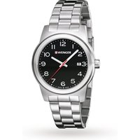 mens wenger field colour watch