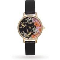 ladies olivia burton painterly print watch ob15pp11