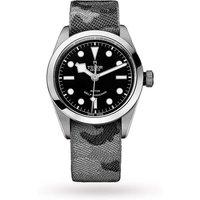 tudor black bay mens watch