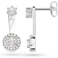 Thomas Sabo Glam & Soul Pave Cubic Zirconia Stud Earrings