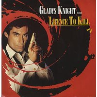 "Gladys Knight & The Pips Licence To Kill - Red sleeve 1989 UK 12"" vinyl MCAT1339"