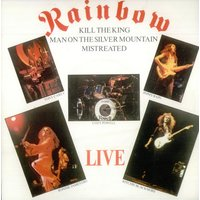 "Rainbow Live E.P - 2nd Issue P/S 1982 UK 7"" vinyl POSP274"
