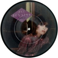"""Pat Benatar Fire And Ice 1981 UK 7"""" picture disc CHSP2529"""