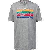 TOMMY JEANS T-Shirt »TJM TOMMY RAINBOW BOX TEE«