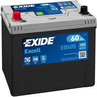 Exide Excell Battery 014 60AH 390CCA