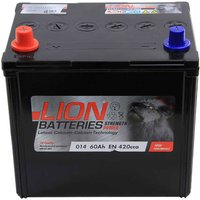 Lion Battery 014 60AH 420CCA