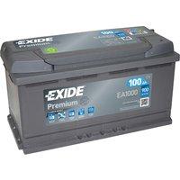 Exide Premium Battery 017 100AH 900CCA