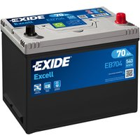 Exide Excell Battery 030 70AH 540CCA
