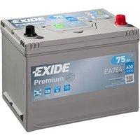 Exide Premium Battery 030 75AH 630CCA