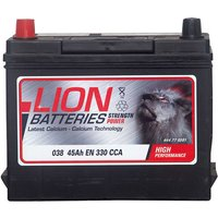 Lion Battery 038 45AH 330CCA