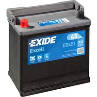 Exide Excell Battery 049 45AH 330CCA