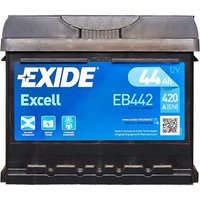 Exide Efb 005 Battery El604 60AH 520CCA