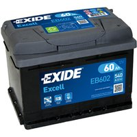 Exide Excell Battery 075  60AH 540CCA