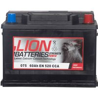 Lion Battery 075 60AH 520CCA