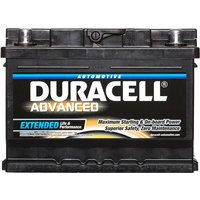 Duracell Advanced Battery 075 62AH 540CCA