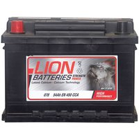 Lion Battery 078 54AH 450CCA