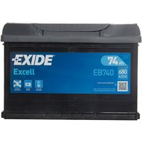 Exide Excel Battery 096 74AH 680CCA