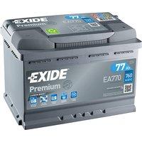 Exide Premium Battery 096 77AH 760CCA