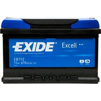 Exide Excel Battery 100 71AH 670CCA