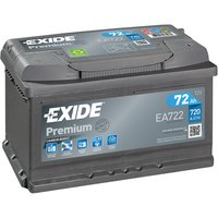 Exide Prem Battery 100 72AH 720CCA
