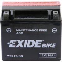 YTX12-BS Motorcycle Battery