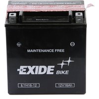 YTX16-BS Motorcycle Battery