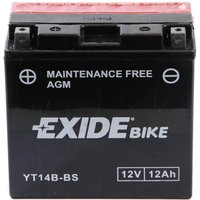 YT14B-BS Motorcycle Battery