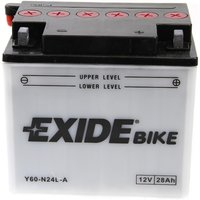 Y60-N24L-A Motorcycle Battery