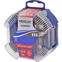 Neolux H4 Upgrade +50% More Light Twin Pack