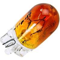 Neolux 501A 12V W5W Bulb 501A Neolux Single Amber Bulb