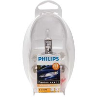 Philips H1 Spare Bulbs Kit 12V Headlamp Rear Indicator & Fuse