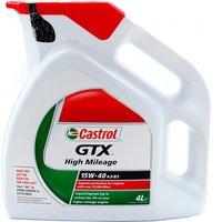 GTX High Mileage Mineral 15W40 Engine Oil (4 Litre)