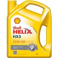 Helix HX5 15W-40 5Ltr