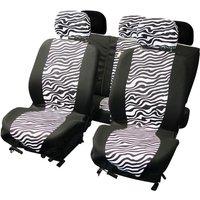 LADYLINE Seatcover set 8 pcs zebra