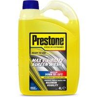 Prestone Concentrated Screen Wash (4 Ltr)