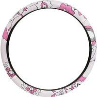 LADYLINE Steering wheel cover pink flower