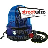 12v Blue Rotating Beacon -Off Road Use