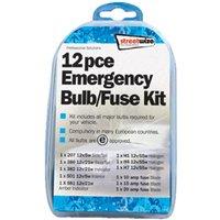 11 piece Emergency Bulb & Fuse Kit