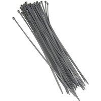 Grey Cable Ties 100 Ties per bag- Length 360mm x Width 4.7mm