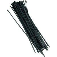 Black Cable Ties 100 Ties per bag- Length 360mm x Width 4.7mm