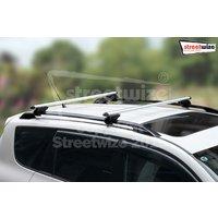 HD Alum Locking Bars For Vehicle Roof 120cm Max Load 90kgs