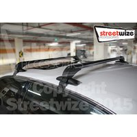 Roof Bars for 4 Door Vehicles Without Roof Rails -Secure Easy Fit Ratc